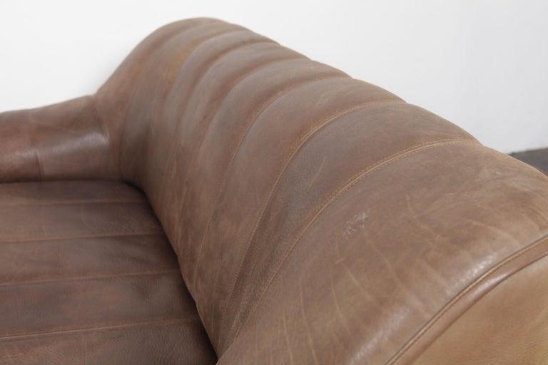 De Sede DS 44 2-Seat Sofa in Buffalo Leather, Switzerland ...
