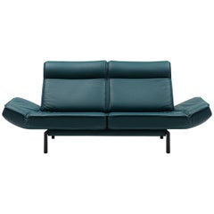 De Sede DS-450/02 Sofa in Petrol Upholstery by Thomas Althaus
