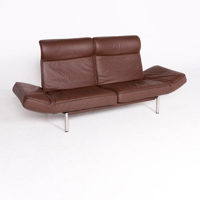 Magnificent De Sede Ds 450 Designer Leather Sofa Brown Genuine Leather Pabps2019 Chair Design Images Pabps2019Com