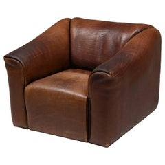 De Sede DS 47 Brown Leather Armchair