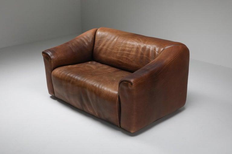 De Sede DS 47 Brown Leather Sofa 3