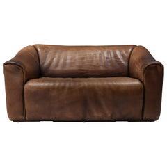 De Sede DS 47 Brown Leather Sofa