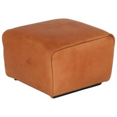 De Sede DS 47 Cognac Leather Ottoman, Stool