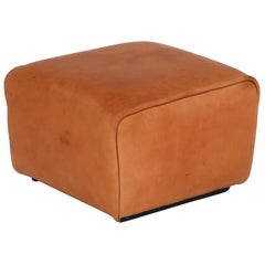 De Sede DS 47 Cognac Leather Ottoman, Stool