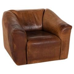 De Sede DS 47 Leather Armchair Brown Function Vintage
