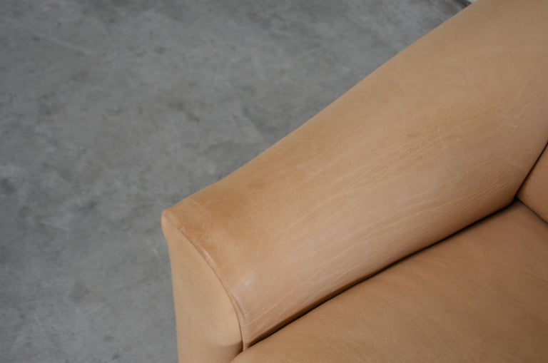 De Sede DS 47 Loveseat Neck Leather Sofa In Good Condition For Sale In Munich, Bavaria