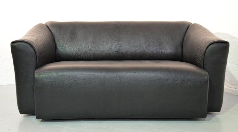 De Sede DS 47 Original Neck Leather Designer Sofa 1970`s For Sale at ...