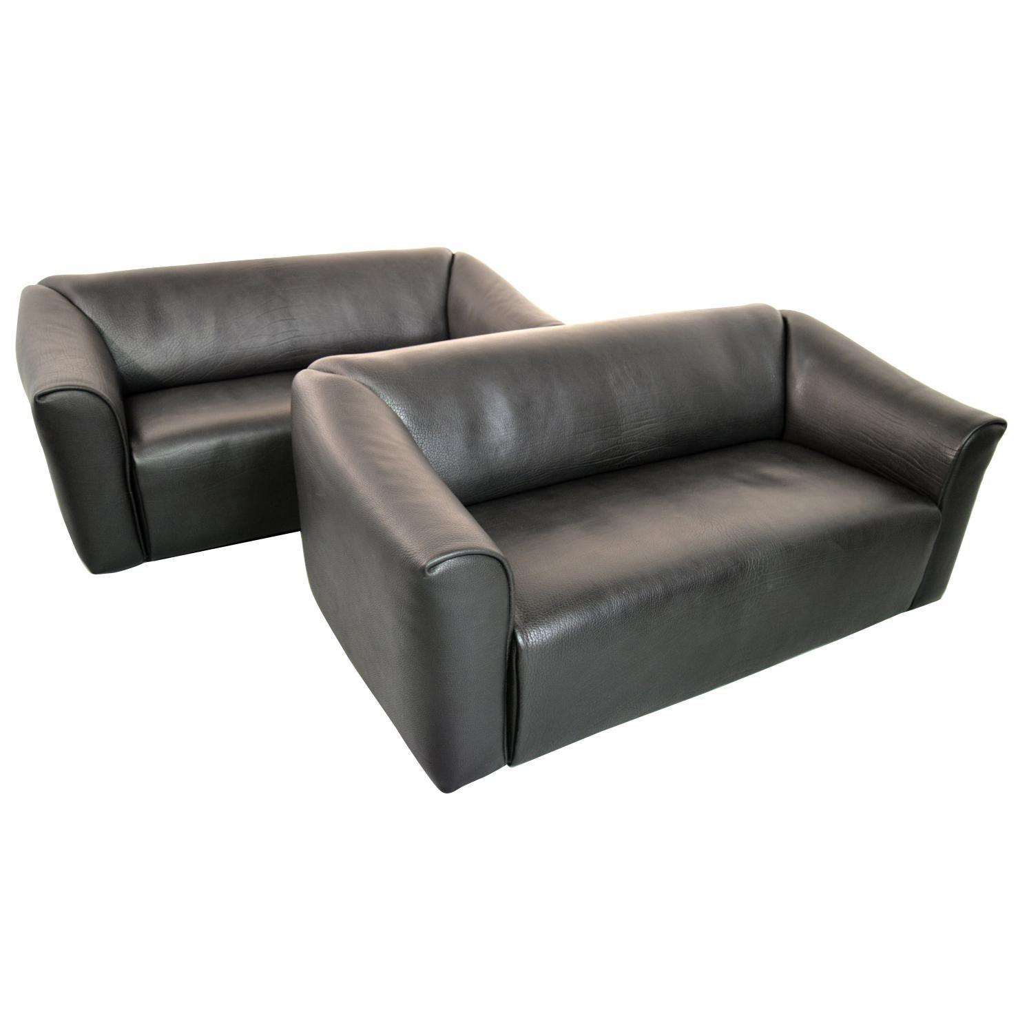 De Sede DS 47 Original Neck Leather Designer Sofas, Switzerland