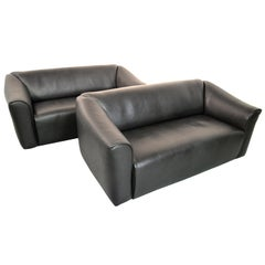 De Sede DS 47 Original Neck Leather Designer Sofas, Switzerland