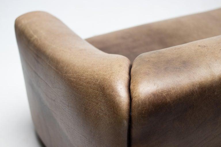De Sede DS-47 Sofa in Brown Buffalo Leather 1