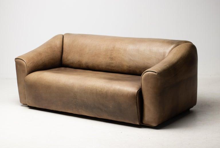 De Sede DS-47 Sofa in Brown Buffalo Leather 2
