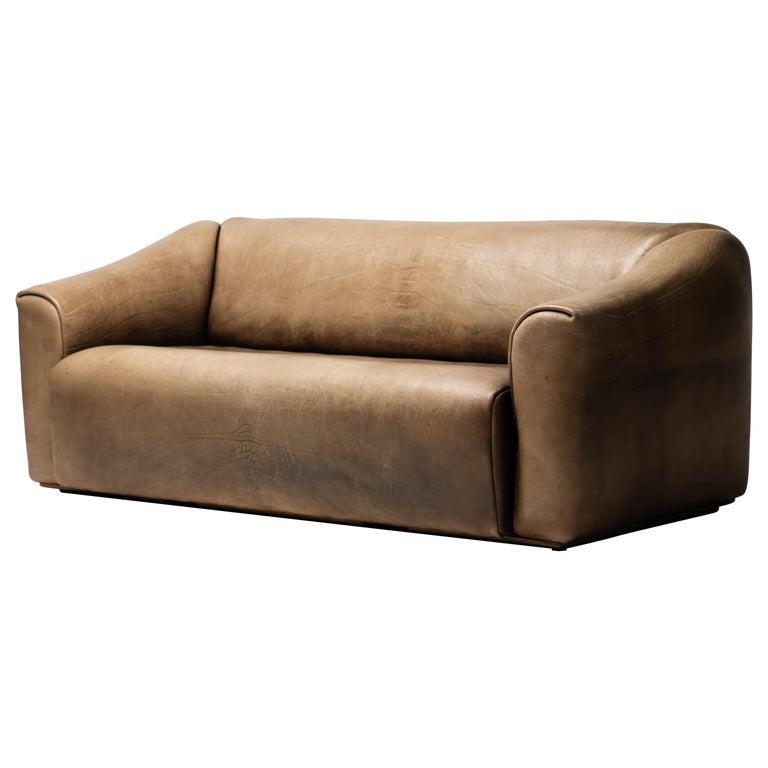 De Sede DS-47 Sofa in Brown Buffalo Leather