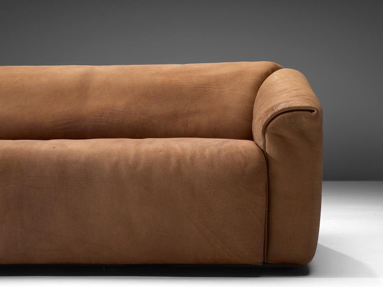De Sede DS-47 Sofa in Cognac Leather For Sale 1