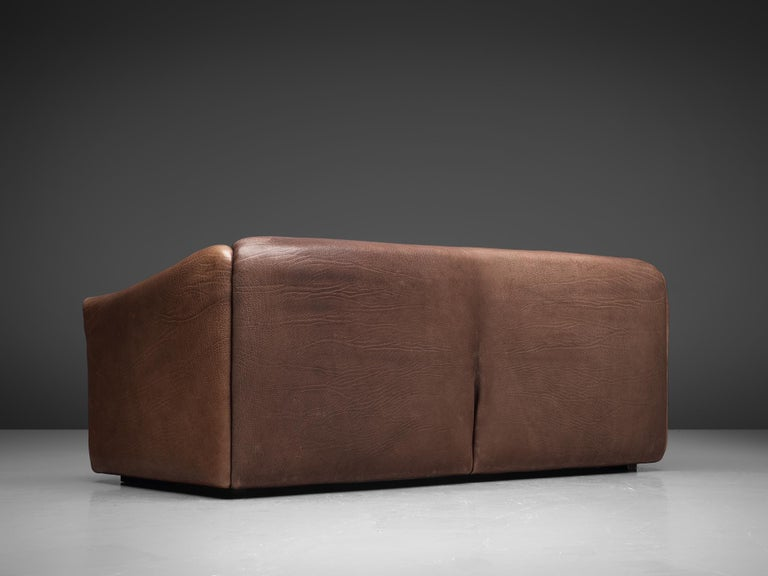 De Sede DS-47 Sofa in Dark Brown Buffalo Leather 1