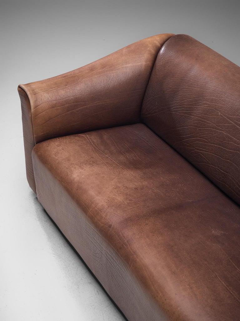 De Sede DS-47 Sofa in Dark Brown Buffalo Leather 2