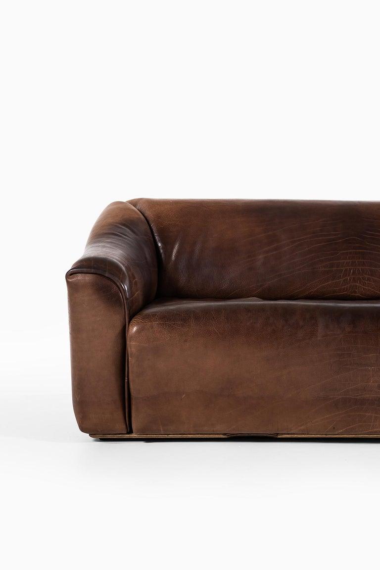 Mid-Century Modern De Sede DS-47 Sofa Produced by De Sede in Switzerland For Sale