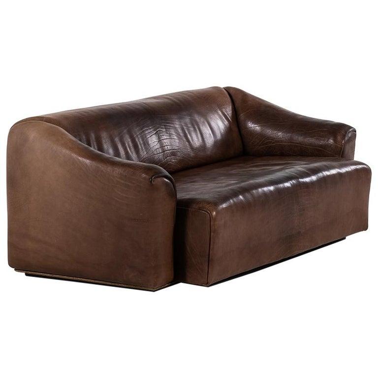 De Sede DS-47 Sofa Produced by De Sede in Switzerland For Sale
