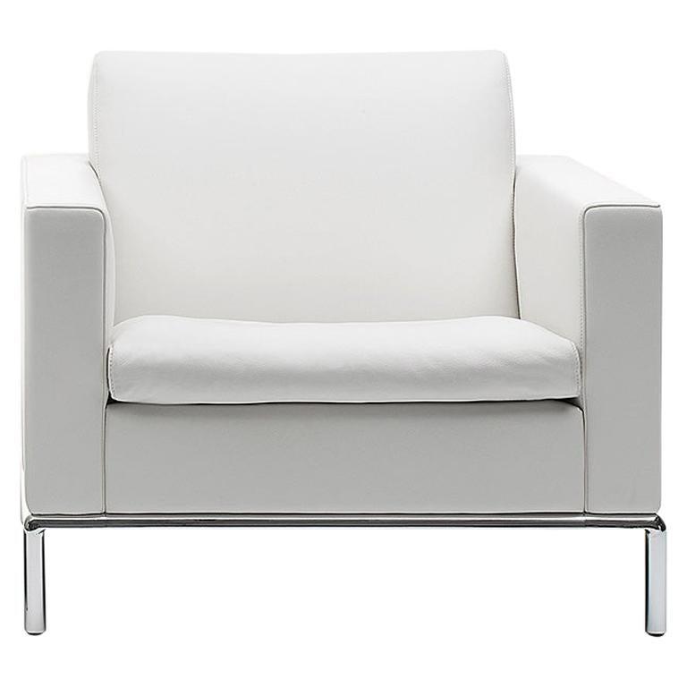 De Sede DS-5 Armchair in Snow Upholstery by Antonella Scarpitta