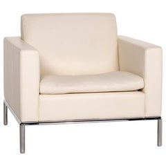 De Sede DS 5 Leather Armchair Cream