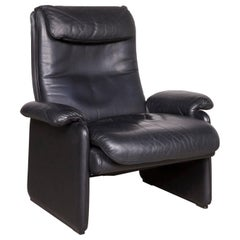De Sede Ds 50 Leather Armchair Black Genuine Leather
