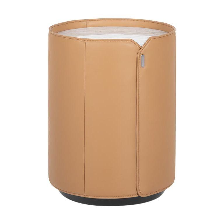 De Sede DS-5020 Table in Nougat Upholstery by de Sede Design Team