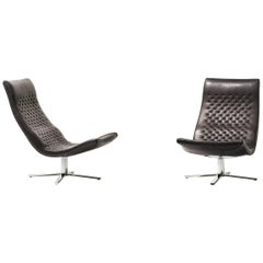 De Sede DS-51 Chair in Black Upholstery by Antonella Scarpitta