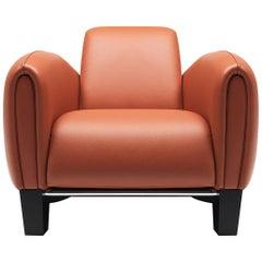 De Sede DS 57 Armchair in Teak Upholstery by Franz Romero