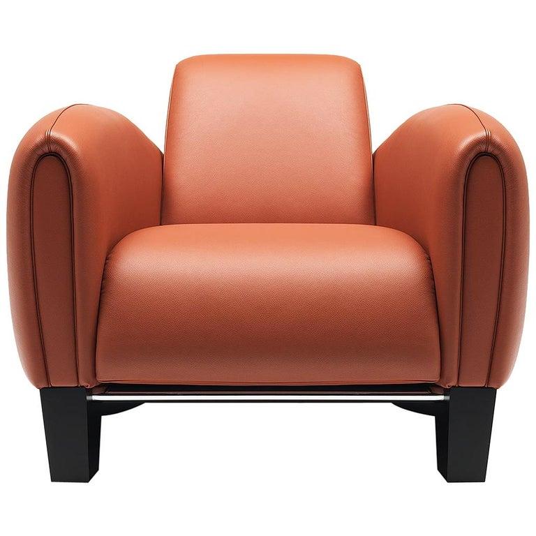 De Sede DS 57 Armchair in Teak Upholstery by Franz Romero For Sale