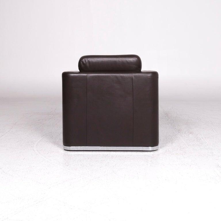 De Sede DS 6 Leather Armchair Brown 4
