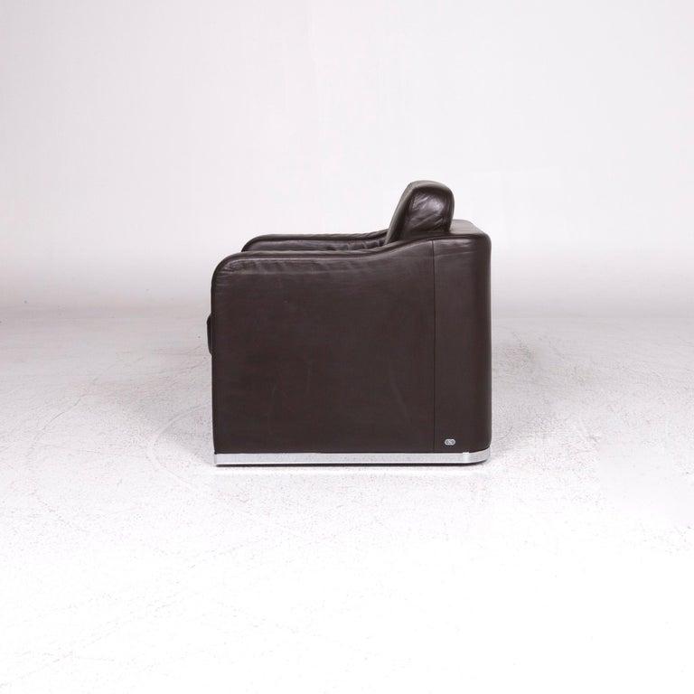 De Sede DS 6 Leather Armchair Brown 5