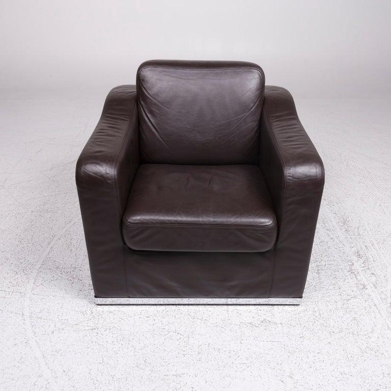 De Sede DS 6 Leather Armchair Brown 1