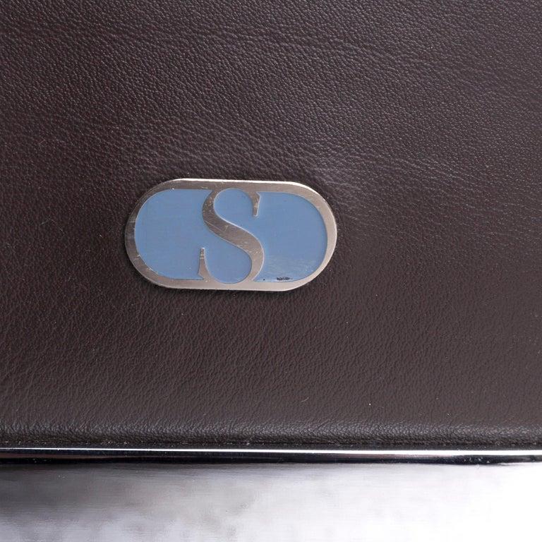 De Sede DS 6 Leather Armchair Brown 2