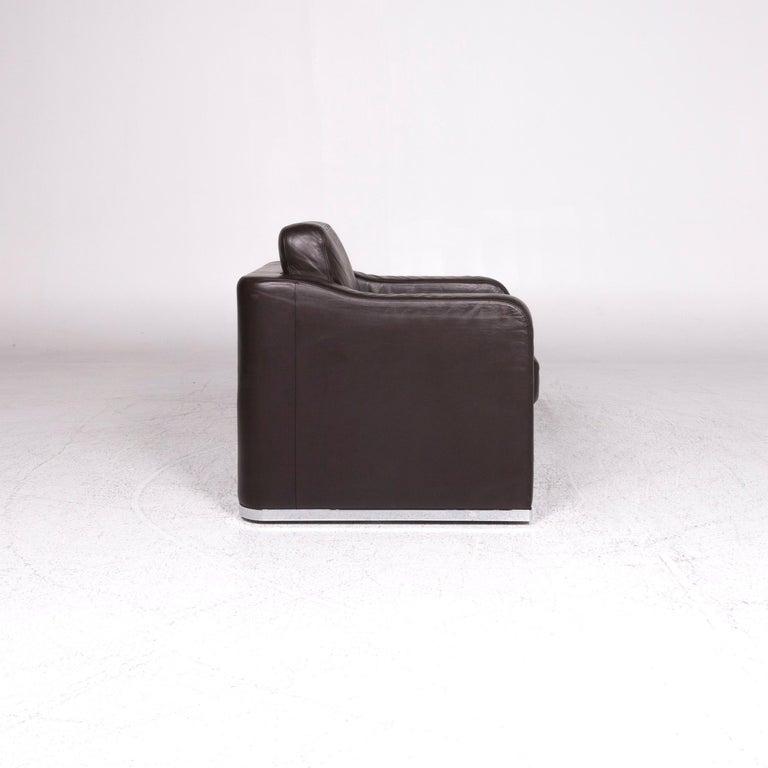 De Sede DS 6 Leather Armchair Brown 3
