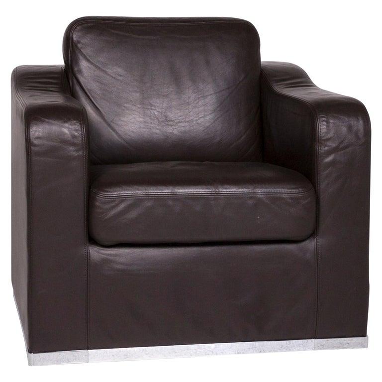 De Sede DS 6 Leather Armchair Brown