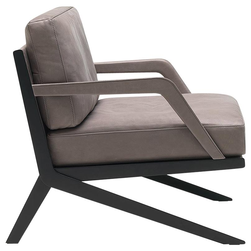 De Sede DS-60/01 Armchair in Taupe Upholstery by Gordon Guillaumier