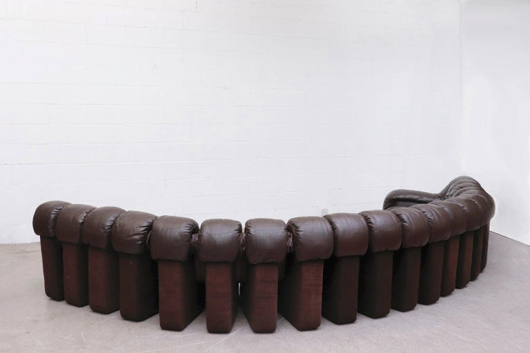 De Sede 'DS 600' Non-Stop 26 Section Sofa by De Sede 7