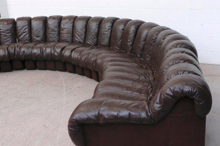 De Sede 'DS 600' Non-Stop 26 Section Sofa by De Sede 1
