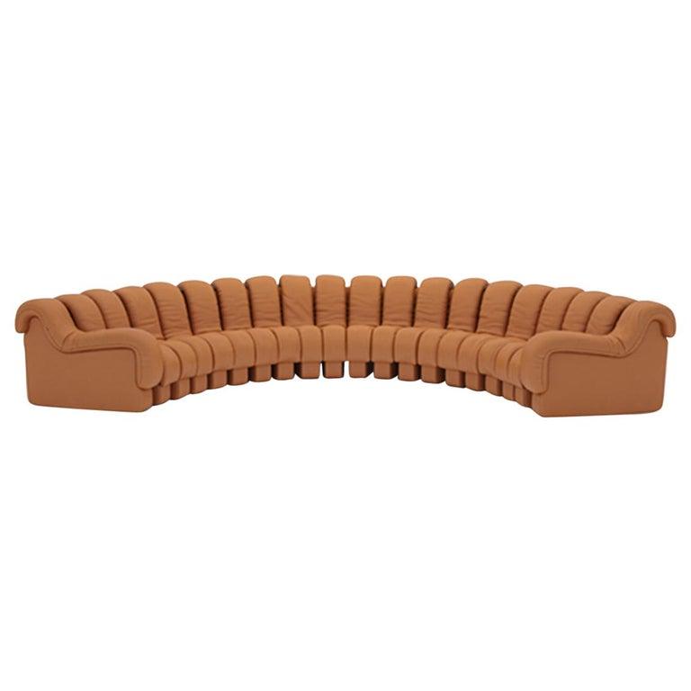 de Sede DS-600 modular leather sofa, new