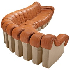 De Sede DS-600 Sofa in Cognac Leather