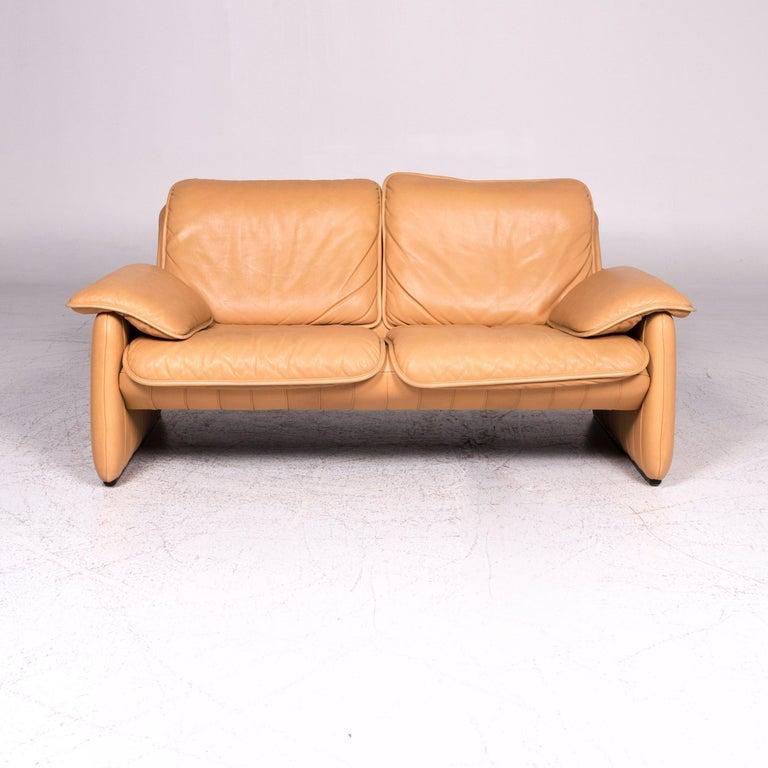 Astonishing De Sede Ds 61 Leather Sofa Beige Two Seat Couch Machost Co Dining Chair Design Ideas Machostcouk