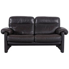 De Sede DS 70 Designer Sofa Brown Leather Two-Seat, Switzerland