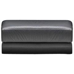 De Sede DS 76 Stool in Black Upholstery by De Sede Design Team
