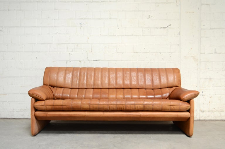 Vintage leather Sofa by De Sede.