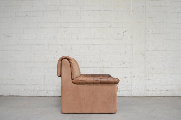 De Sede DS 86 Vintage Neck Leather 2 x Armchair For Sale 10