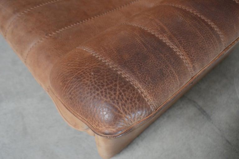 Late 20th Century De Sede DS 86 Vintage Neck Leather 2 x Armchair For Sale