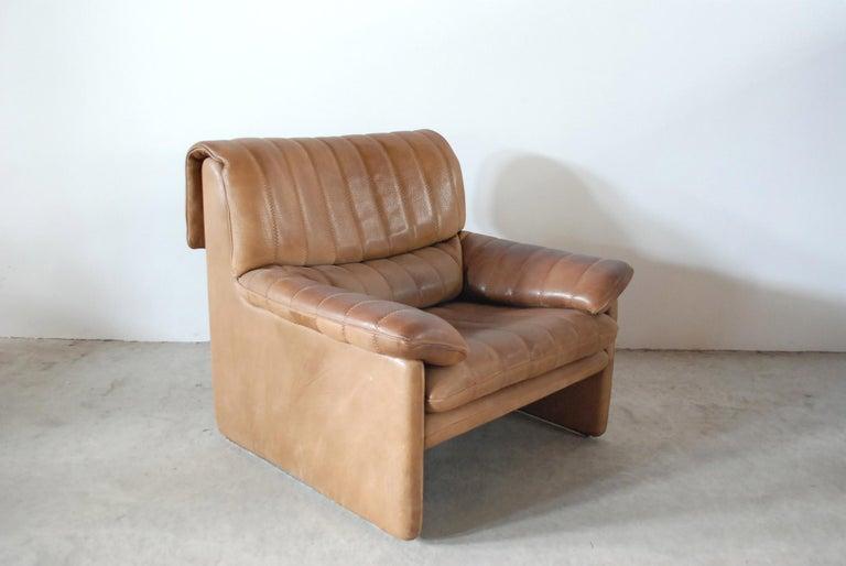 De Sede DS 86 Vintage Neck Leather Armchair 2