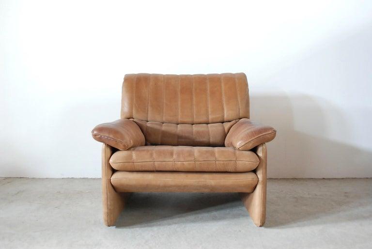De Sede DS 86 Vintage Neck Leather Armchair 3