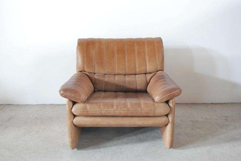 De Sede DS 86 Vintage Neck Leather Armchair 4