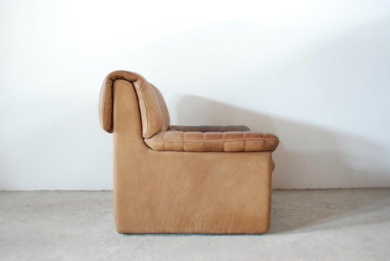 De Sede DS 86 Vintage Neck Leather Armchair 5