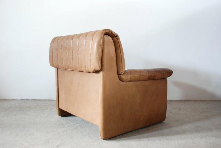 De Sede DS 86 Vintage Neck Leather Armchair 6